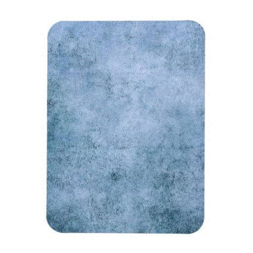 Aged and Worn Blue Vintage Texture Flexible Magnets