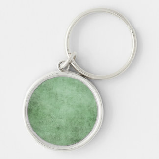 Aged and Worn Green Vintage Texture Key Chain