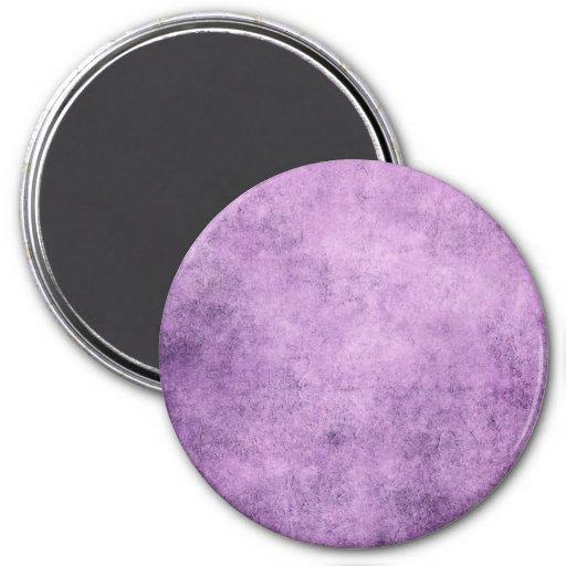 Aged and Worn Purple Vintage Texture Fridge Magnet