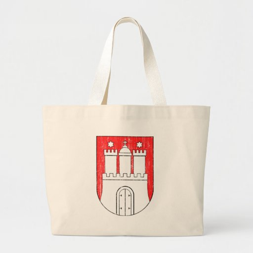 Aged Coat of arms of Hamburg Bags