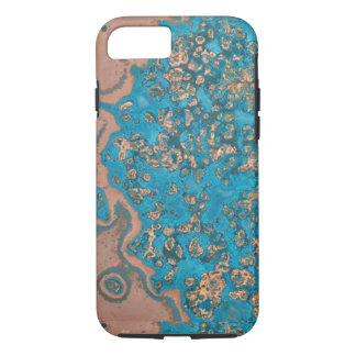Aged Copper Patina iPhone 7 case