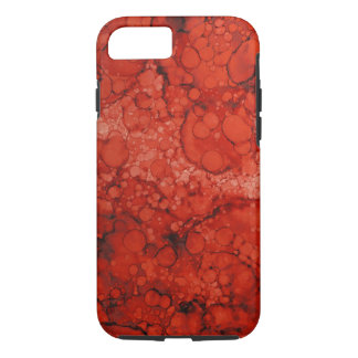 Aged Copper Patina Red iPhone 7 case