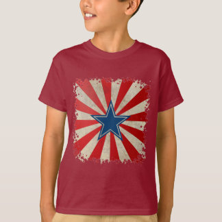 Aged Glory - Red, White and Blue T-Shirt