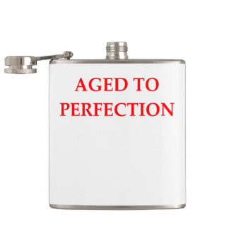 AGED HIP FLASK