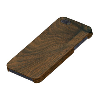 Aged Mahogany Wood Texture iPhone 5/5S Cover