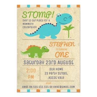 Dinosaur Birthday Invitations & Announcements | Zazzle.com.au