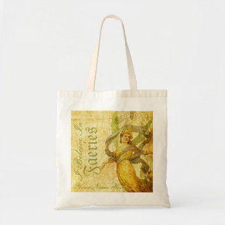 Aged Rose of Faery Tote Bags