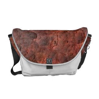 Aged Rusted Metal Messenger Bag