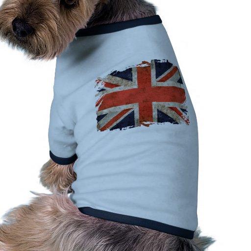 Aged shredded Union Jack Dog Clothing