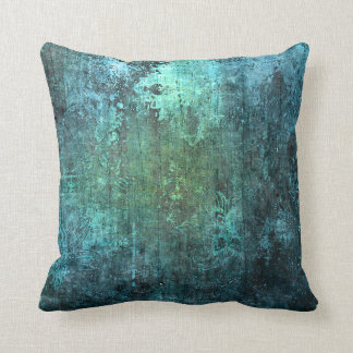 Aged Stone Modern Style Gradient Blue Green Pillow Throw Cushions