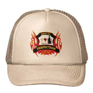 Aged To Perfection 50th Birthday Gifts Cap