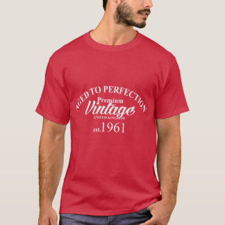 Aged to Perfection Premium Vintage T-Shirt