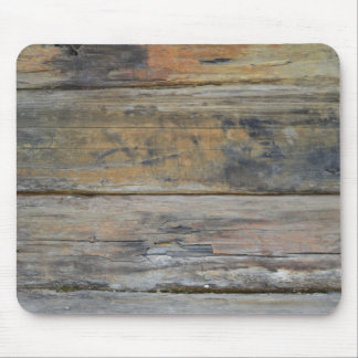 Aged Wood Boards Mousepad