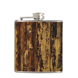 Aged Wood Flask