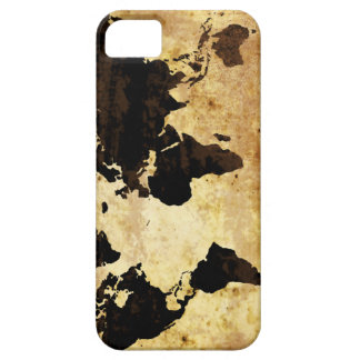 aged-world-map iPhone 5 cases