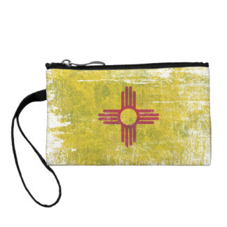 Ageing of the New Mexico flag Change Purse