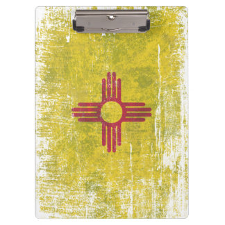 Ageing of the New Mexico flag Clipboard