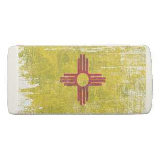 Ageing of the New Mexico flag Eraser