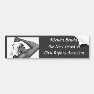 AGenda Benda:The New Breed of Civ... Bumper Sticker