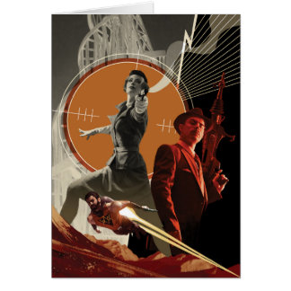 Agent Carter And Howard Stark Collage Card