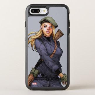 Agent Carter In Uniform OtterBox Symmetry iPhone 7 Plus Case