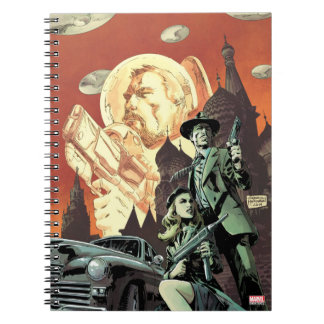 Agent Carter With Howard Stark Notebooks
