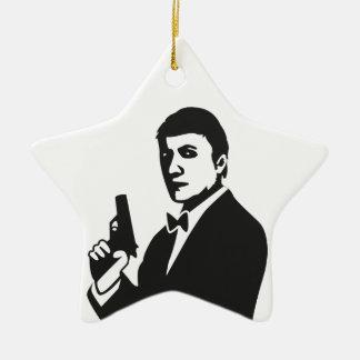 Agent Ceramic Ornament