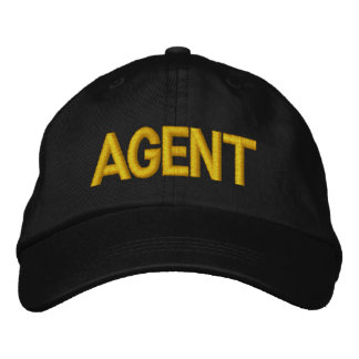 Agent Embroidered Hat