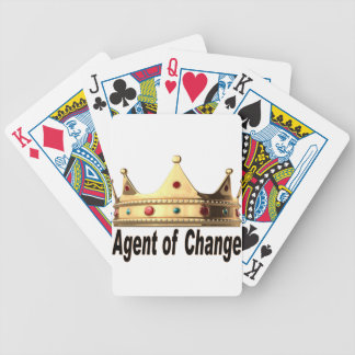 Agent of Change Bicycle Playing Cards
