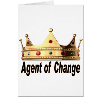 Agent of Change Card