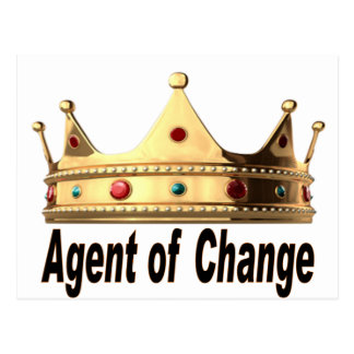 Agent of Change Postcard