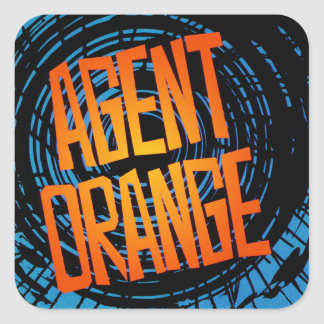 "Agent Orange ""SpinArt"" Stickers Skate Punk Rock"