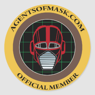 Agents of M.A.S.K. Official Badge Sticker