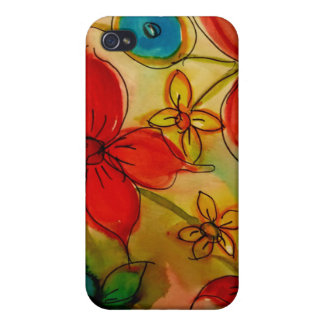 Aggelikis Floral Melange  iPhone 4/4S Covers