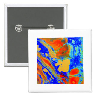 Aggelikis Marbling - 1 Design Pinback Buttons