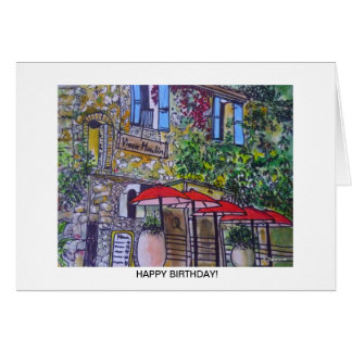 Aggelikis Vieux Moulin, Provence, France Greetings Greeting Card