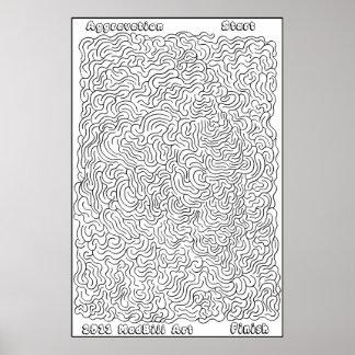 Aggravation Maze Print