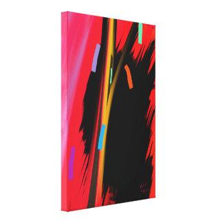 """Aggression "" Canvas Print"