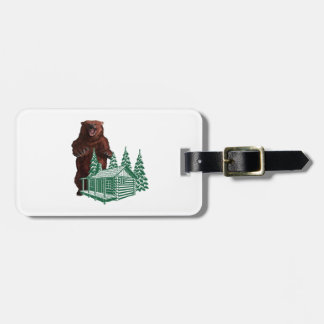 Aggressive Action Luggage Tag