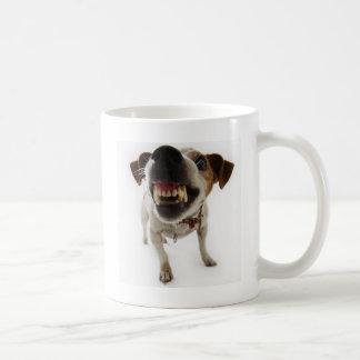 aggressive dog coffee mug