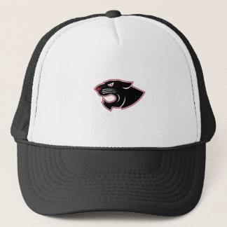 Aggressive Panther Head Icon Trucker Hat