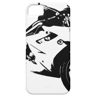 aggressive sport motorcycle barely there iPhone 5 case