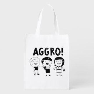 AGGRO Girls Market Totes