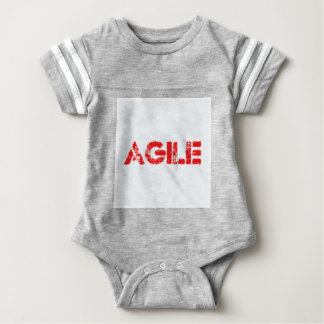 Agile agenda baby bodysuit