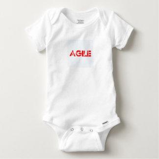 Agile agenda baby onesie