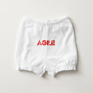 Agile agenda nappy cover