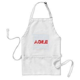 Agile agenda standard apron