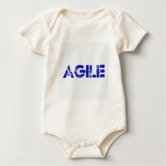Agile BLUE Baby Bodysuit