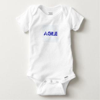 Agile BLUE Baby Onesie