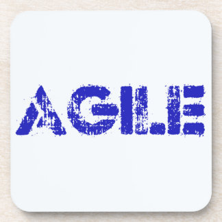 Agile BLUE Coaster